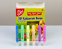 Bubu 3D Kabaran Boya - 3D Swelling Paint