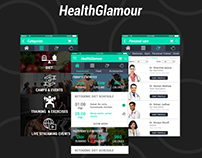 HealthGlamour: An Android app for health & fitness