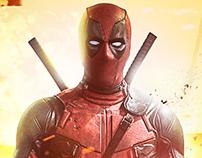 Poster - If Deadpool was a regular Superhero movie