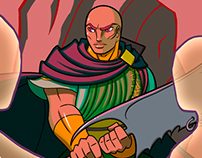 Commission: The Warrior Series Comic