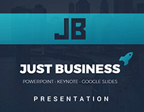 Just Business Powerpoint Template