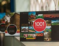 Calender 2015 (1001 things)