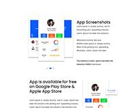 Mobile App Web UI