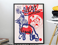 Risograph posters