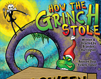 How the Grinch Stole Halloween Poster