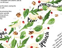 Fresh Autumn Salad | Illustrated Recipe