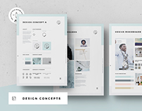 Symbolis Concept Design and Moodboards