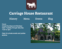 Carriage House Design Comps