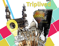 Posters and cover page for Triplived