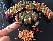 Minyatür turşular Diorama By Gül ipek istanbul