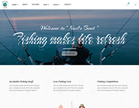 Nails Boat - Fishing and Hunting Club HTML Template