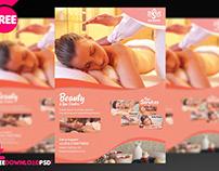 Beauty Spa Flyer + Social Media Post