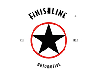 Finishline Automotive - Identity Design