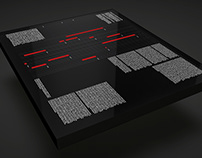 GRAPHIC DESIGN. MULTI-TOUCH SCREEN TABLE
