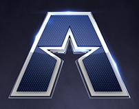 America's Pregame Logo Development
