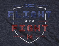 Fight And Flight - Cotton Bureau