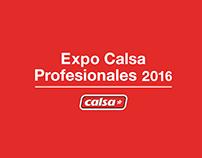 Expo Calsa Profesionales 2016