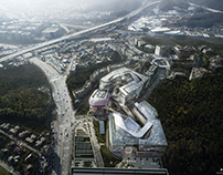 I-Square in Seoul, South Korea, by Haeahn Architects
