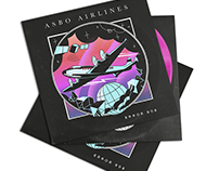 Asbo Airlines logos and cover
