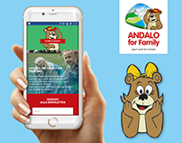 Andalo for Family - Responsive Web Design
