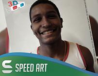 Mistura de Raças - Speed Art