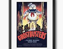 Ghostbusters Parody Movie Poster