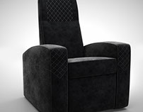 Home Cinema seats designed by Ineva