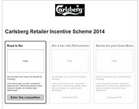 Carlsberg Retailer Incentive Scheme UX Design