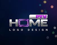 PTV Home - Logo Design