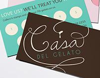 Casa Del Gelato Rebranding