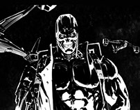 Terminator Black and White