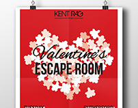 Valentine's Escape Room poster