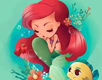 DISNEY The Little Mermaid: Under the sea