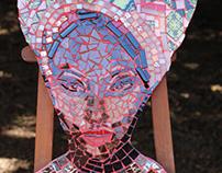 Mosaic Head - African
