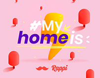 #Myhomeis by Rappi