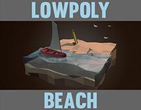 Lowpoly beach