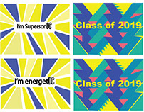 Ithaca College Class of 2019 Stickers