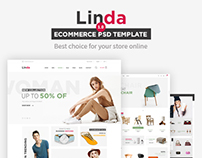 Linda - Mutilpurpose eCommerce Website