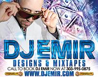 DJ Emir Santana Branding & Ads