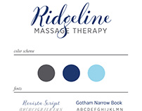 Ridgeline Massage Therapy Logo
