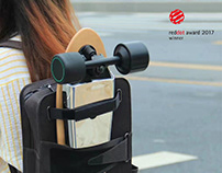 Slide plate Backpack