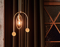 EARING/ Pendant Light, Industrial Product