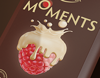 MOMENTS Berries in chocolate