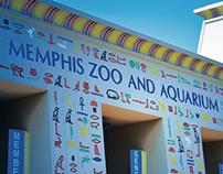 Memphis Zoo Signage