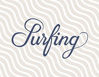 SURFING | Lettering