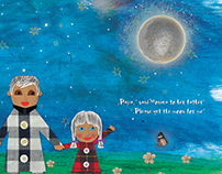 "Children book  ""Papa please get the moon for me"""