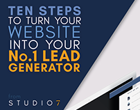 eBook Cover - Website Lead Generation