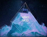 Album Design Hello Nico -Familiar Desolation