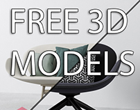 FREE 3D MODEL SOFA CHAIR