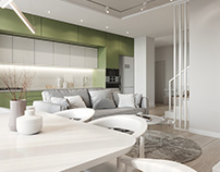Design of a 5-room apartment in Kiev